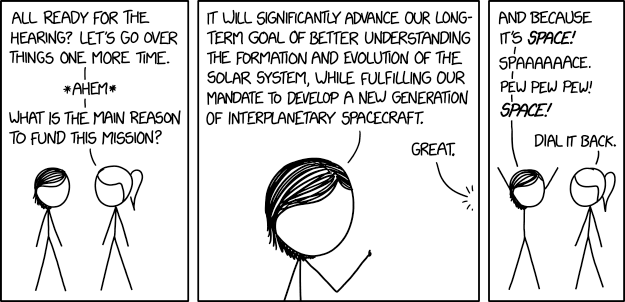 Space Elevator Xkcd