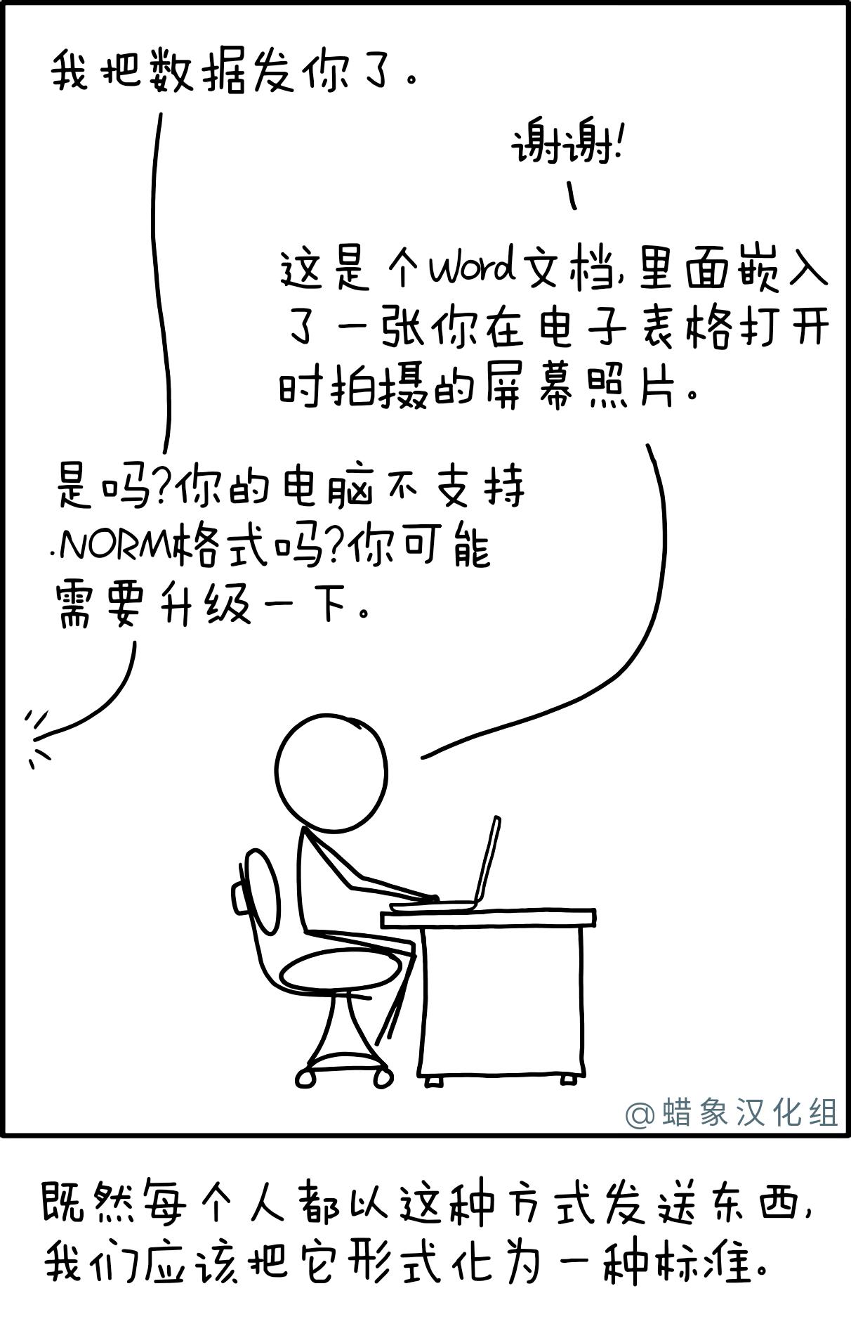 后缀为.NORM的标准文件格式